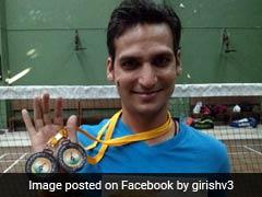 मिलिए गिरीश शर्मा से, जिन्होंने एक टांग गंवाने के बावजूद बैडमिंटन में किया देश का नाम रौशन