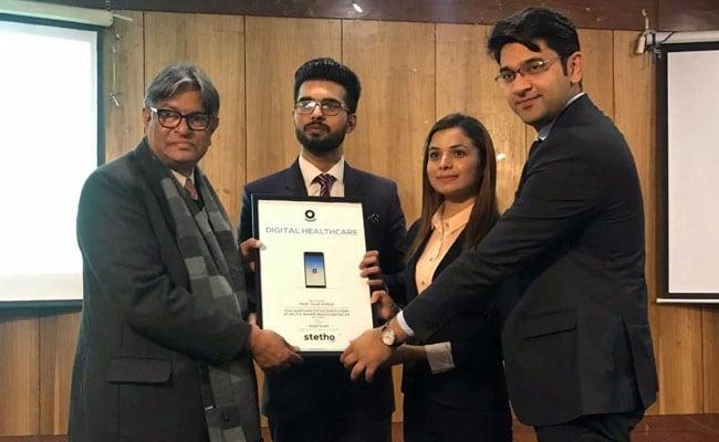केंद्र सरकार की डिजिटल इंडिया मुहिम के तहत जामिया के छात्र ने लांच की स्वास्थ्य सेवा कंपनी