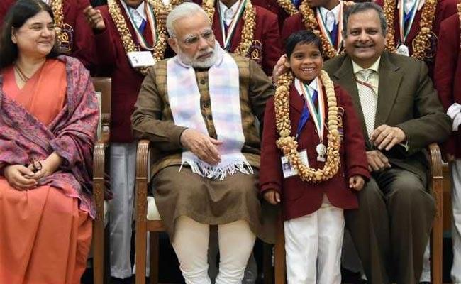 National Bravery Awards : प्रधानमंत्री मोदी ने 18 बहादुर बच्चों को 'नेशनल ब्रेवरी अवार्ड' से किया सम्मानित