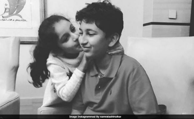 Mahesh Babu's Kids Gautam And Sitara In A Heartwarming Pic Shared By Namrata Shirodkar