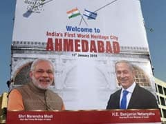 PM Arrives In Ahmedabad Ahead Of 8-km Roadshow With Netanyahu: 10 Points