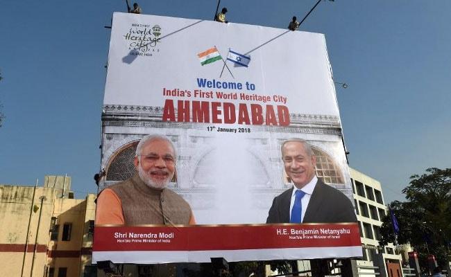 PM Modi, Benjamin Netanyahu's 8 km-Roadshow Today In Gujarat: 10 Points
