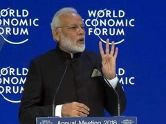 """Globalisation Losing Sheen"": PM Modi's Warning At Davos"