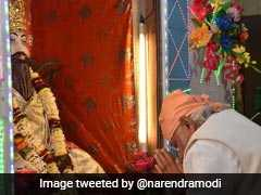 "PM Narendra Modi Pays Tribute To Guru Ravidas On Twitter, Says ""Government Guided By His Ideals"""