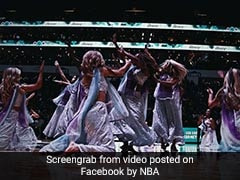 "The ""<i>Padmaavat</i>"" Effect: Deepika Padukone's <I>Ghoomar</i> Was Performed At NBA Match To Loud Cheers"