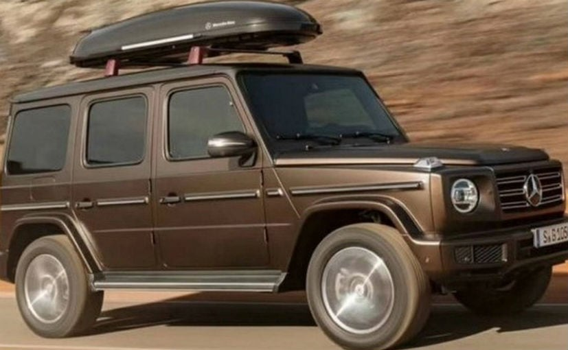 Mercedes Benz To Offer New G Class With Diesel Engine In Europe Later This