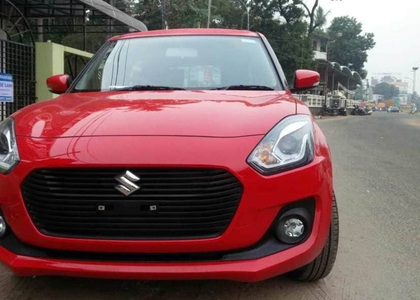 new maruti suzuki swift front