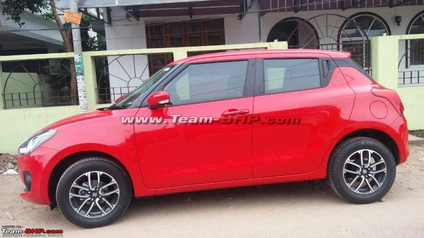new maruti suzuki swift platform