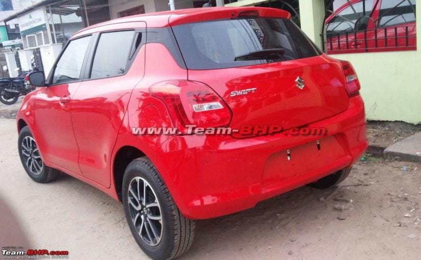 new maruti suzuki swift rear