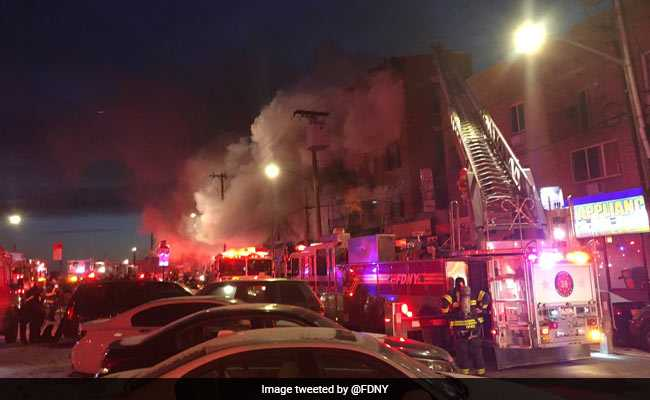 Fire In New York Apartment Building Injures 16, Including Nine Children