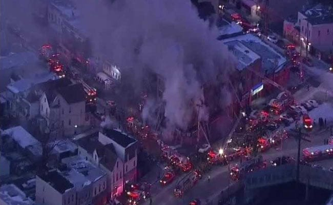 Huge Fire At Apartment Building In New York, Multiple Injuries
