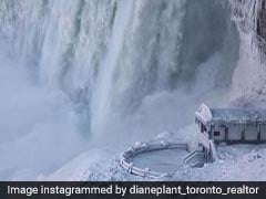 How Engineers Created The Icy Wonderland At Niagara Falls