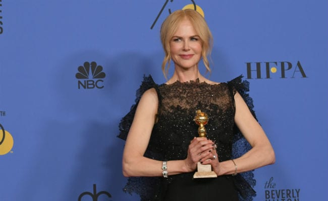 Nicole Kidman, Elisabeth Moss hail power of women at Golden Globes