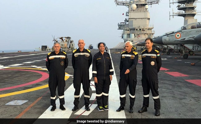 Indian Navy Fully Capable To Deal With Any Threat, Says Defence Minister