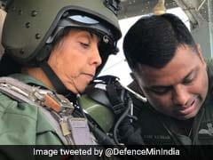 Defence Minister Sitharaman Flies In Sukhoi Jet In 45-Minute Sortie