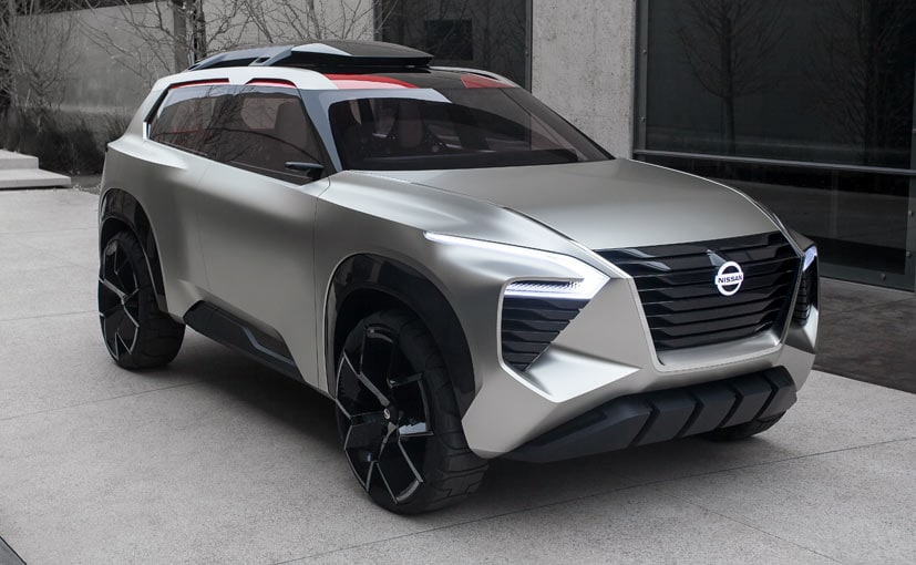 2018 detroit auto show nissan unveils xmotion compact suv concept ndtv carandbike. Black Bedroom Furniture Sets. Home Design Ideas