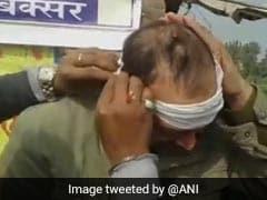 बिहार के बक्सर में सीएम नीतीश कुमार के काफिले पर हमला, सुरक्षाकर्मियों को आई चोटें