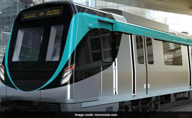 Trial Run On Noida-Greater Noida Metro Rail Link Begins