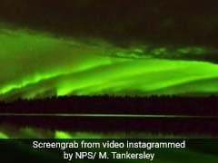 Time-Lapse Video Captures Stunning Northern Lights In Alaska