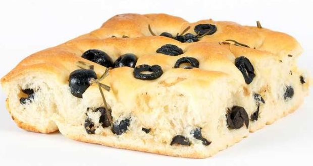 Olive and Rosemary Focaccia Bread