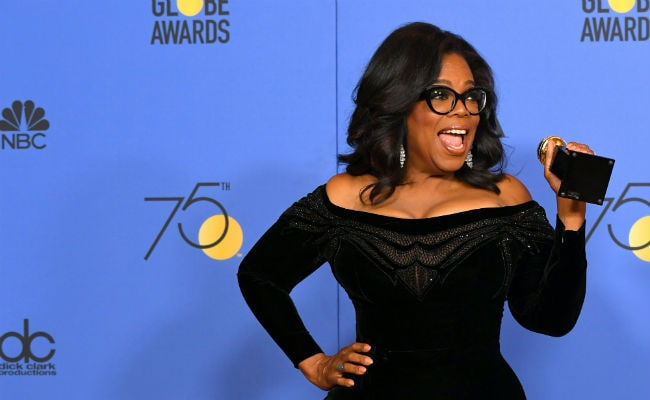 President Winfrey? Fans want Oprah to run following rousing Golden Globe speech