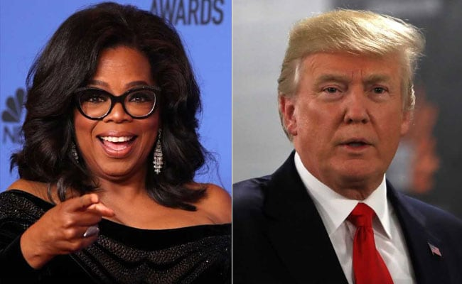 Trump Would 'Welcome The Challenge' From Oprah Winfrey For President