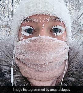 Frozen Lashes, Burst Thermometers At The Coldest Inhabited Place On Earth
