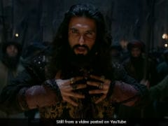 """<i>Padmaavat</i>"" Song <i>Khalibali</i> Is Ranveer Singh's Victory Anthem As Khilji"