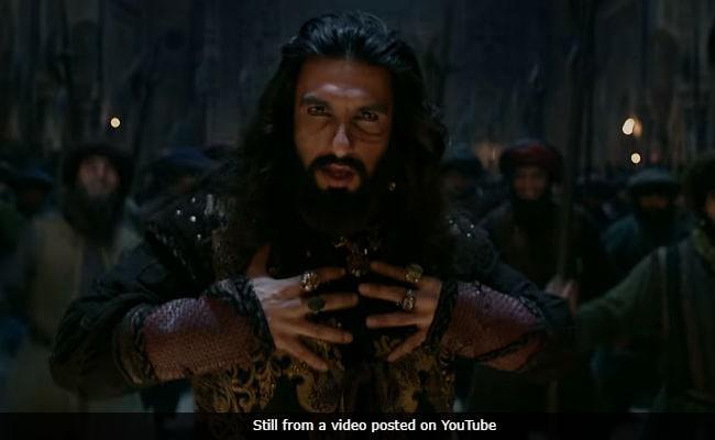 'Padmaavat' Song Khalibali Is Ranveer Singh's Victory Anthem As Khilji