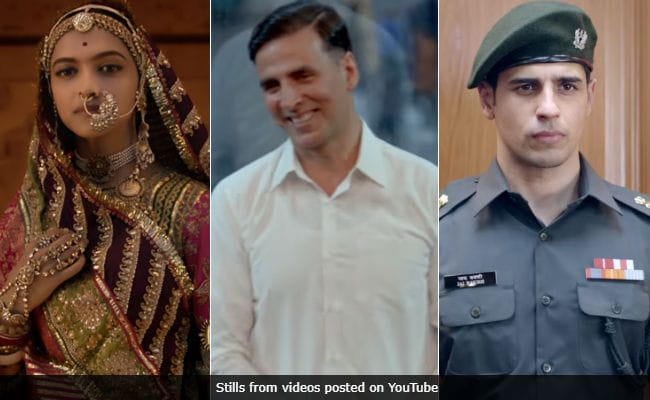 Padmavat vs PadMan: Is Aiyaary Also In Competition?