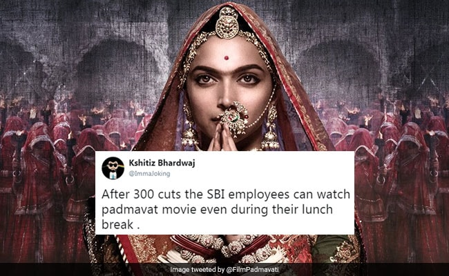 'Padmavat' May Not Have 300 Cuts, But That Doesn't Stop Twitter's Jokes