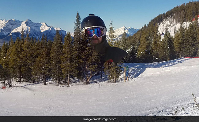 No, That's Not A Giant In The Snow. Hilarious Panorama Fail Goes Viral