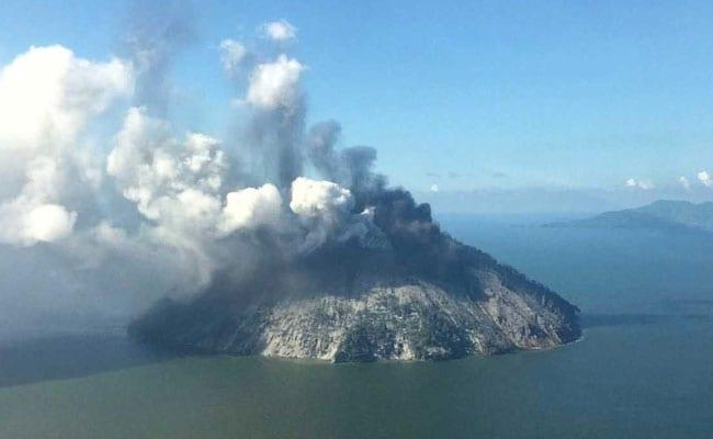 Volcano Erupts On Remote Papua New Guinea Island