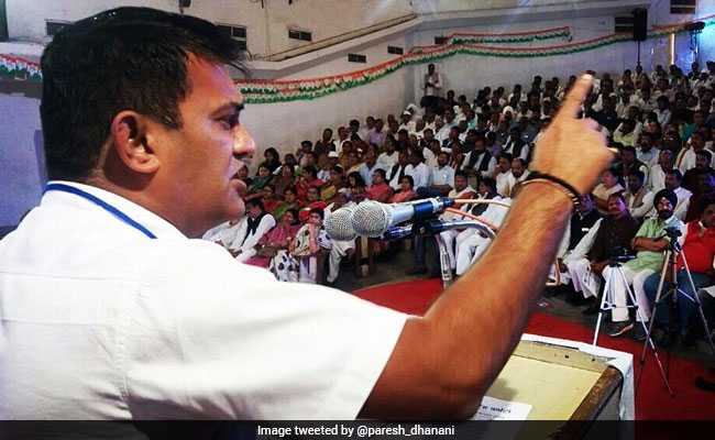 Patidar Legislator Paresh Dhanani Likely To Lead Opposition In Gujarat
