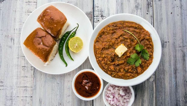 Pav bhaji how to make pav bhaji at home how to make pav bhaji chef ndtv food recipe forumfinder Images