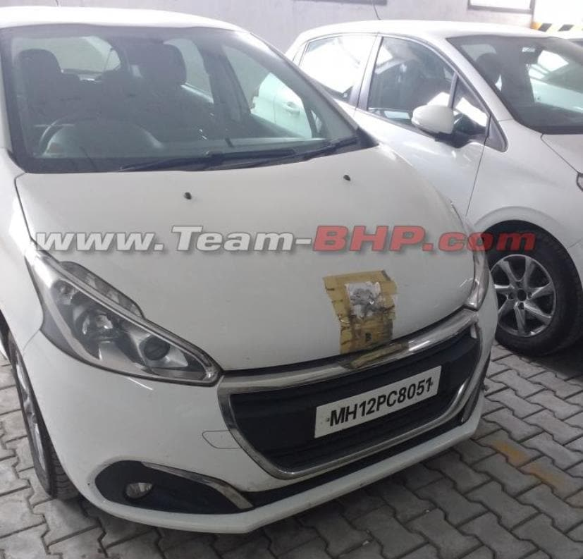 Peugeot 208 Hatchback Spotted In India Sans Camouflage