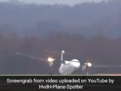 Video: Plane Battles Intense Storm To Make Dangerous Landing
