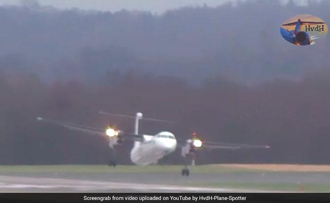Video: Plane Battles Intense Storm To Make Dangerous Landing