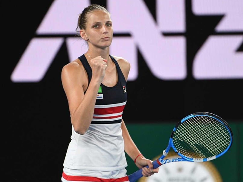 No surprises as Pliskova, Halep and Keys advance