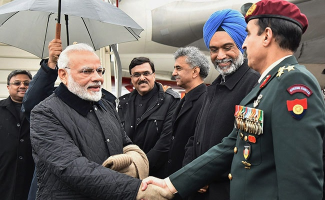 In Davos Debut, PM Modi Seeks Bigger Global Role For India