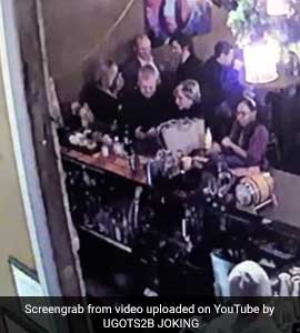 Video Shows Cop - Now Retired - Hitting Wife At A Bar: Report