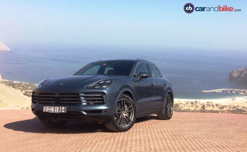 The new-generation Porsche Cayenne is based on VW Group's MLB platform