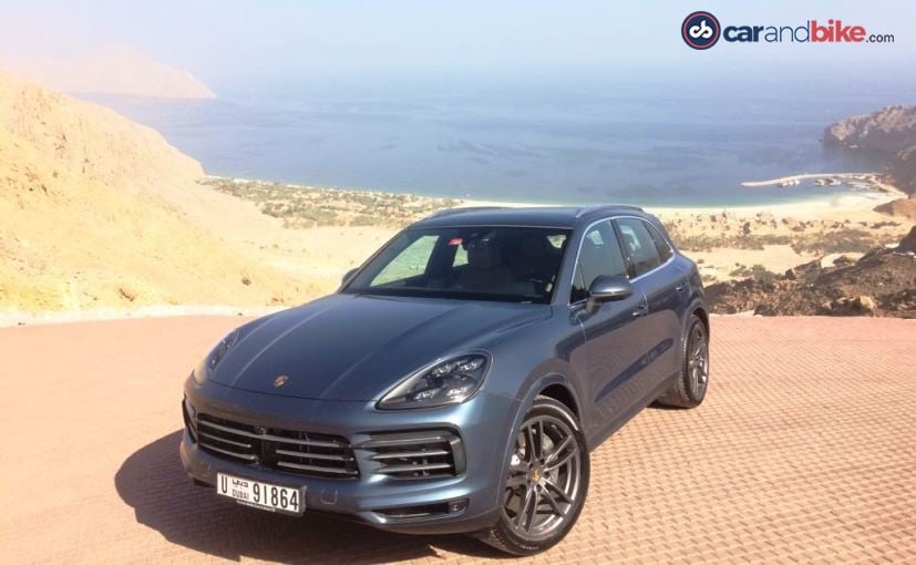 The 2018 Porsche Cayenne will be launched in September in India