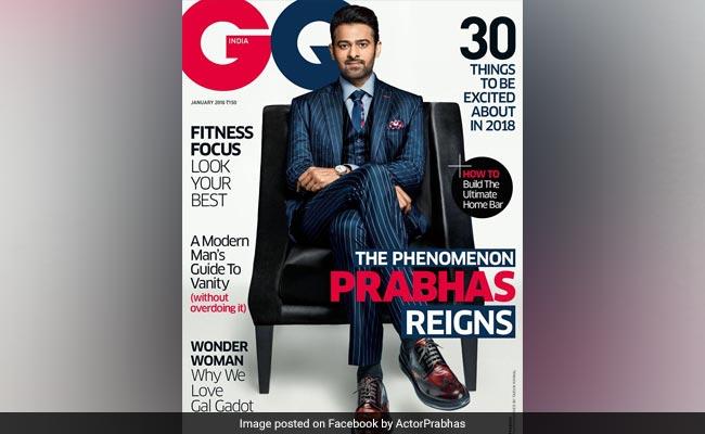 GQ के कवर पर छाए 'बाहुबली' Prabhas तो श्रद्धा कपूर ने कुछ ऐसे की तारीफ