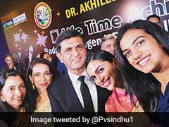 Venkiah Naidu Confers BAI's Lifetime Achievement Award On Prakash Padukone