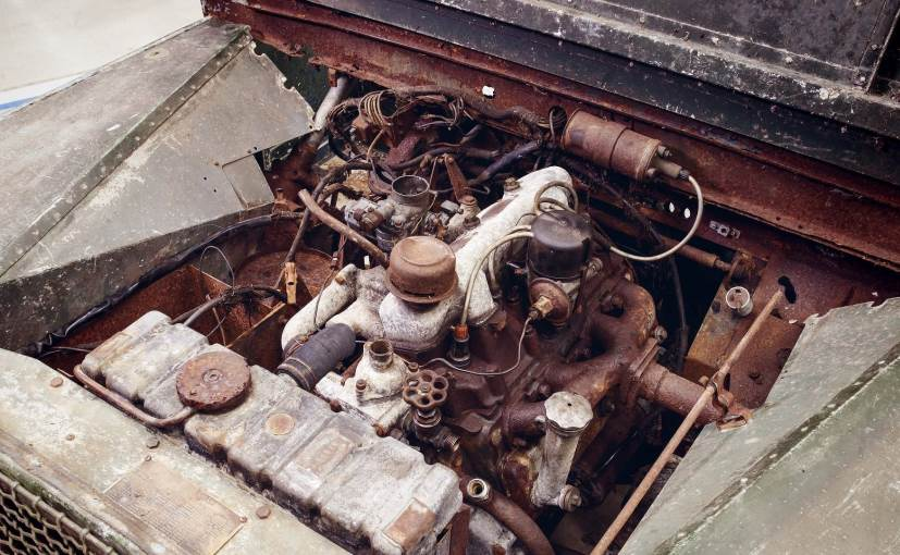 pre production land rover series i engine