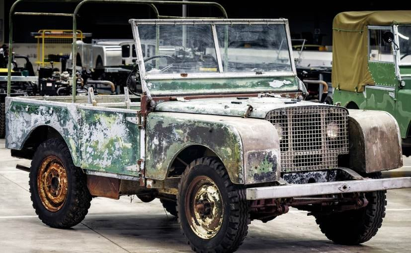 Land Rover To Restore Pre-Production Series I Model