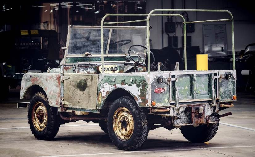 pre production land rover series i