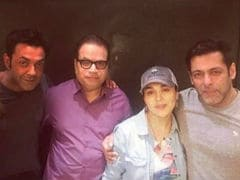 Preity Zinta's 'Unplanned' Birthday Party With Former Co-Stars Salman Khan And Bobby Deol