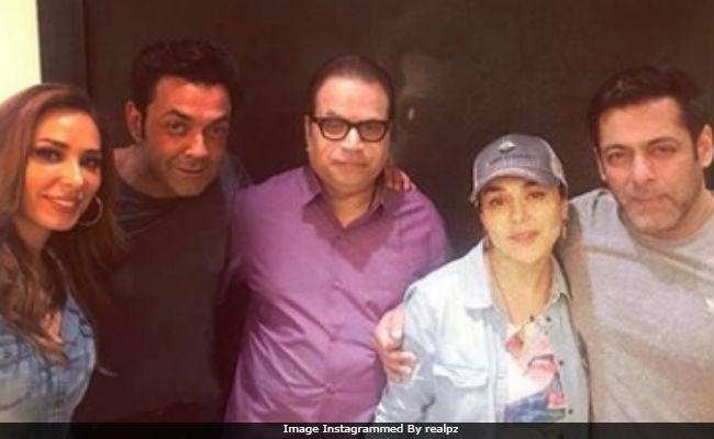 Preity Zinta's 'Unplanned' Birthday Party With Former Co-Stars Salman Khan And Bobby Deol